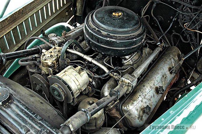 240-сильный ярославский мотор слабоват для такой махины