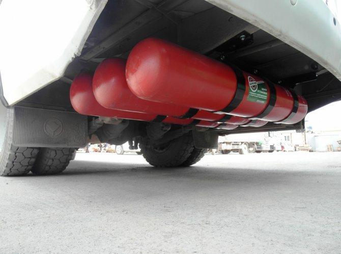 3 метановых баллона (CNG 1)