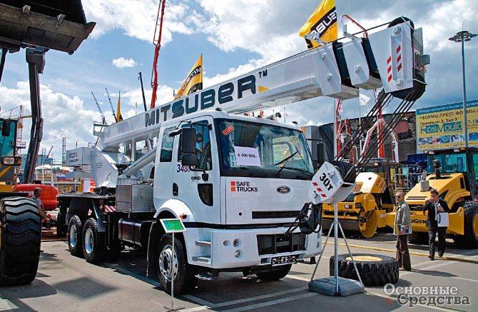 30-тонный «Ульяновец» на шасси Ford Cargo 3430 D