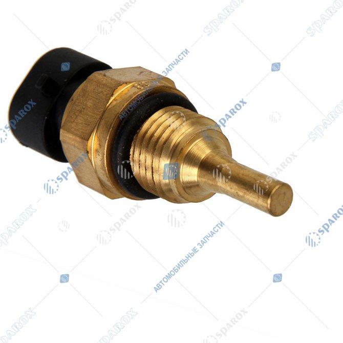 4954905 Датчик КАМАЗ температуры охлаждающей жидкости двигателей ISBE, ISDE, ISF 4954905 (Cummins)