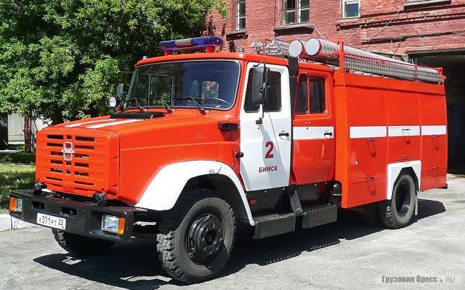 АЦ-3,2-40/4(433114) мод. 005-ММ, модернизированная в 2004 г.