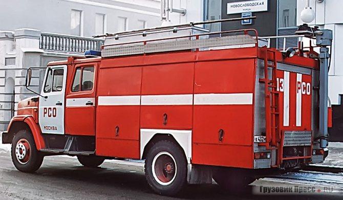 АГДЗ (4331) создан на базе кузова серийной автоцистерны