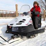 Агрегат для движения по снегу
