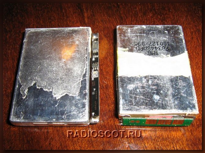 аккумуляторы для мобильников с платой контроллера