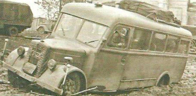 Армейский автобус MAN Е-3000