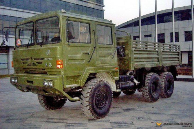 Армейский грузовик Shaanxi