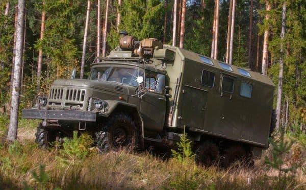 Армейский ЗИЛ 131 фургон