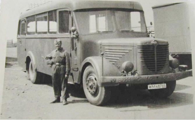 Автобус Bussing-NAG 500-N
