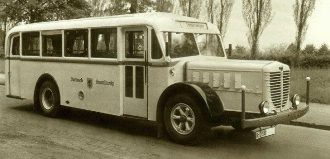 Автобус Bussing-NAG 650-N