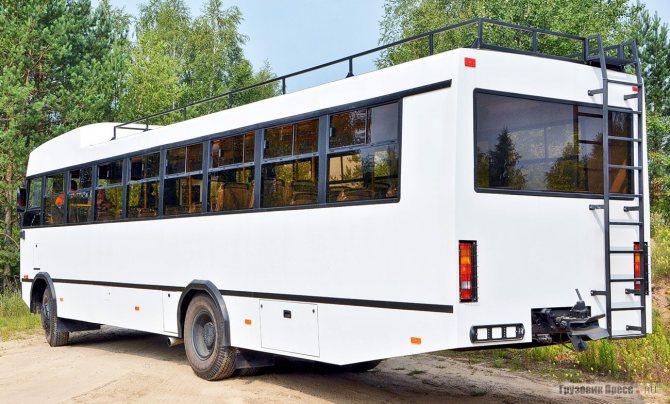 Автобус МАЗ-131020 (тест-драйв)