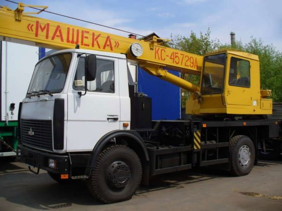 Автокран Машека КС 45729А - 20-ти тонник