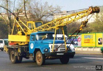Автокран ЗИЛ 130 технические характеристики