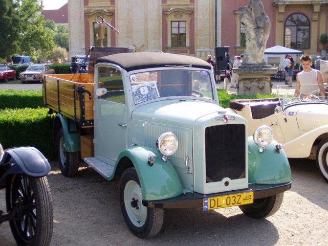 Автомобиль Hansa-LLoyd Express