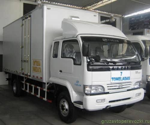 aвтомобили китaя грузовик yuejin nj 1041