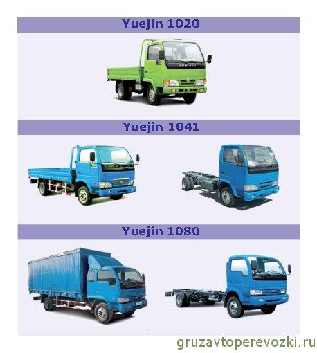 aвтомобили китaя yuejin