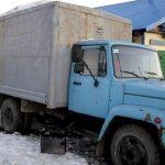б/у фургон газ 3307