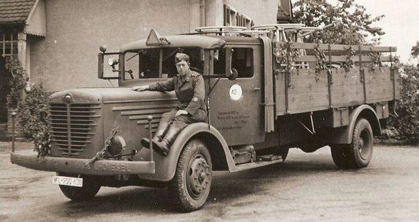 Бортовой грузовик Bussing-NAG 500-S (4500)