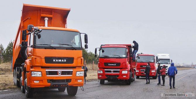 Буквально за 5 лет КАМАЗ расширил семейство грузовиков с кабиной К4, куда вошла линейка магистральных и строительных тягачей, грузовиков для ретейла, и богатая палитра полноприводных шасси, и 4-осных самосвалов