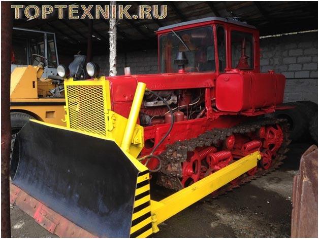 Бульдозер ДТ-75 - Технические характеристики