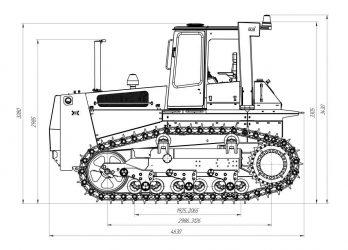 Бульдозер ТМ 10 технические характеристики