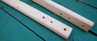 черенки для плоскореза Фокина, ручного почвообрабатывающегорудия