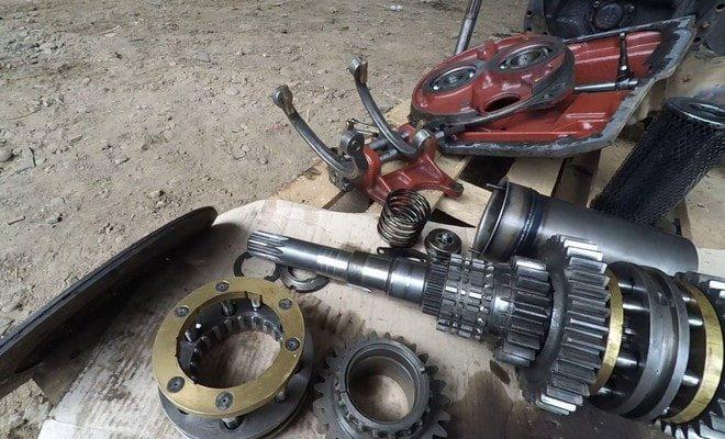Детали трактора