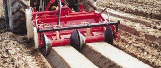 дисковый окучник картофеля к трактору
