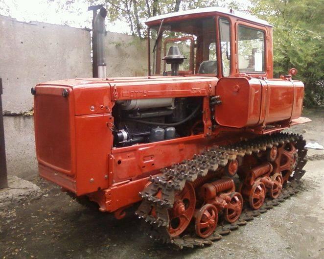 дизельный трактор дт 75