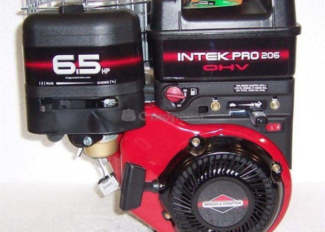 Двигатель Briggs Stratton INTEK