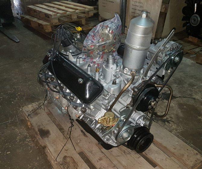 Двигатель ГАЗ-3307