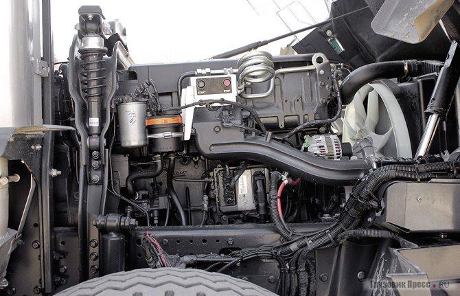 Двигатель IVECO F3B (Cursor 13) – не новичок, но настройки его специально подобраны для специфичной внедорожной работы