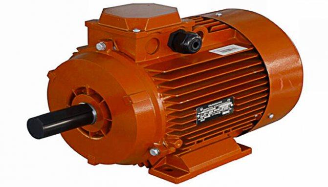 Двигатель мостового крана