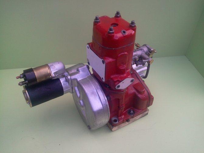 Двигатель на МТЗ