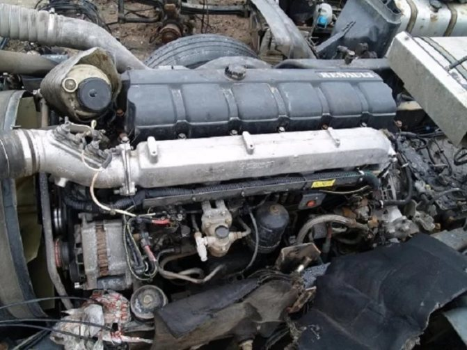 Двигатель Renault Premium 420 DCI