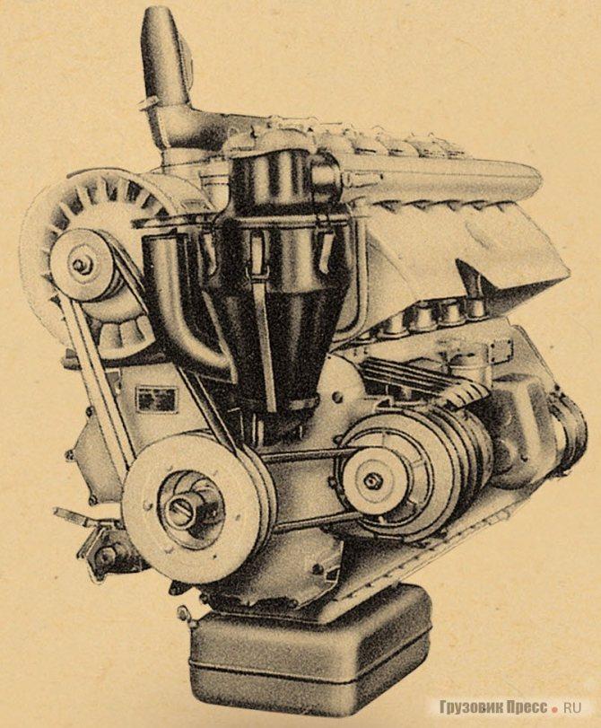 Двигатель Т912