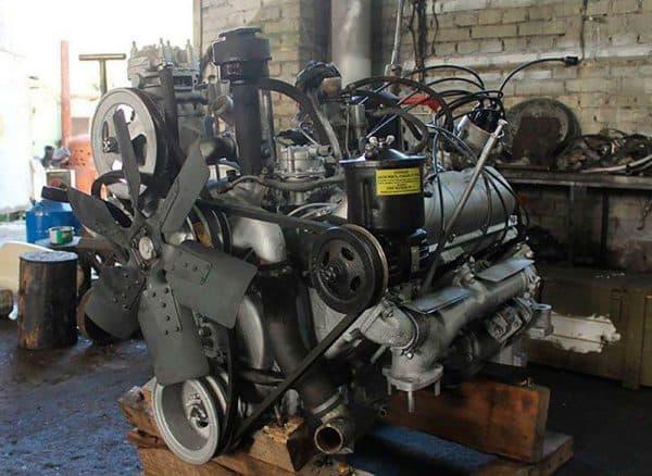 Двигатель ЗИЛа 131