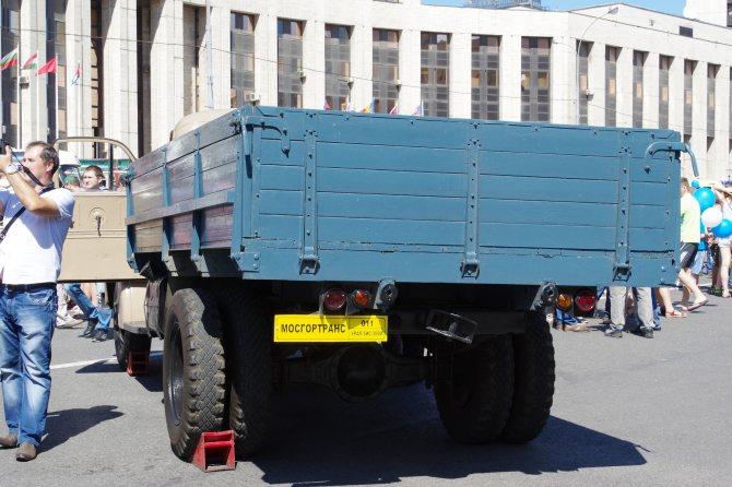 Двухосный грузовой автомобиль средней грузоподъёмности УралЗИС-355М