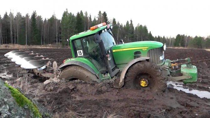 джон дир фото трактора