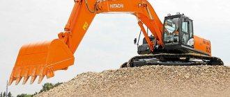 Экскаватор Hitachi ZX 330
