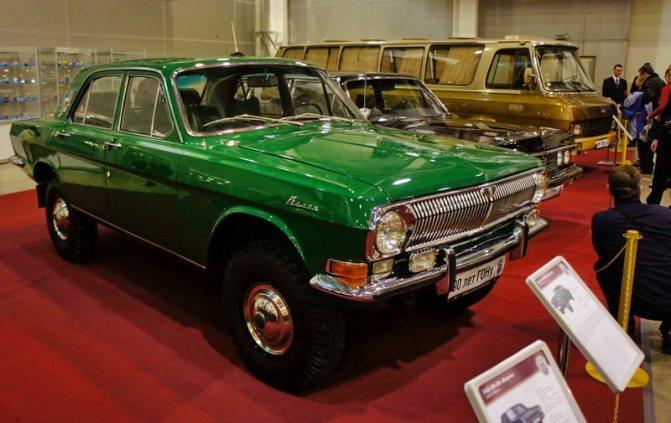 фото ГАЗ-2495 музей