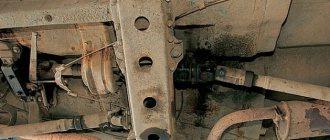 фото ГАЗ-2495 трансмиссия