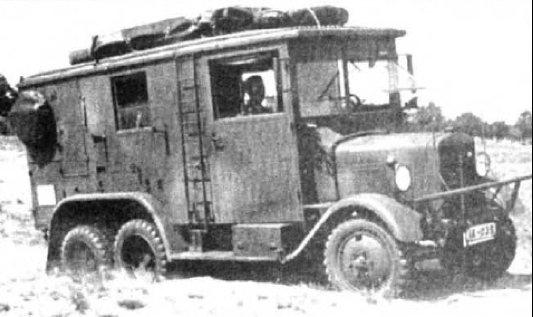 Фургон Bussing-NAG G-31
