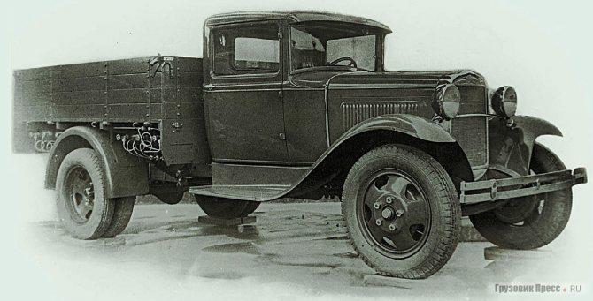 Газобаллонный ГАЗ-44 (1939 г.)