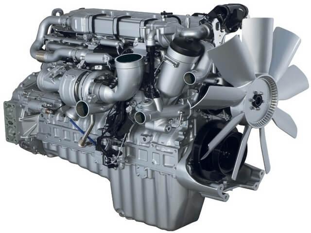 Газодизельный двигатель