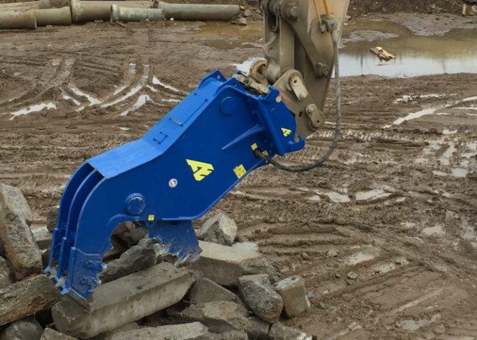 Гидравлический бетонолом