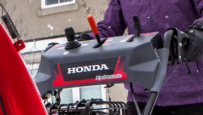 Гидростатическая трансмиссия снегоуборщиков Honda