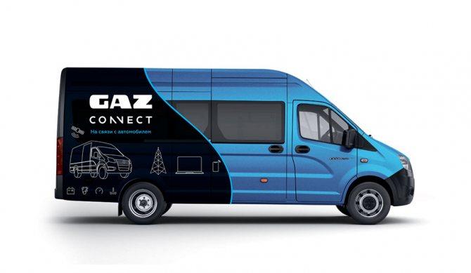 Горьковский автозавод начал производство автомобилей с телематическим блоком GAZ Connect