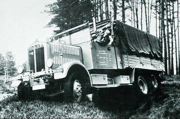 Грузовик Bussing- NAG 3-GL6