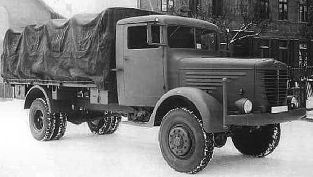 Грузовик Bussing-NAG 500-А (4500)