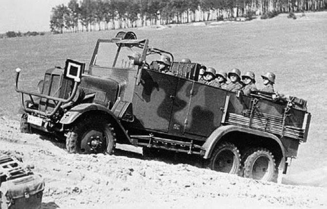 Грузовик Bussing-NAG G-31